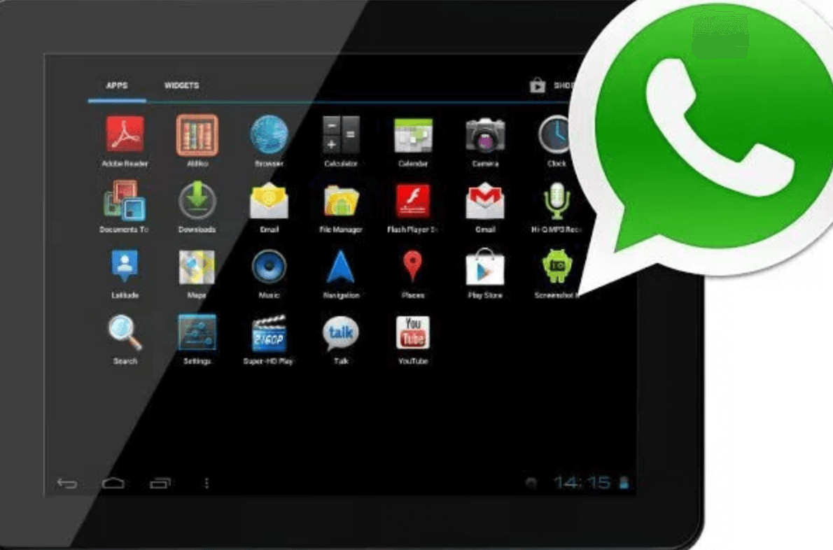 How to install and activate Whatsapp on an Android tablet – Whatsapp